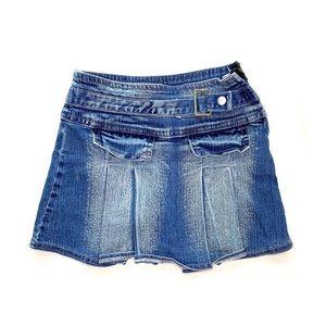 Tam Tam Jeans Blue Denim Skirt Size 5-6